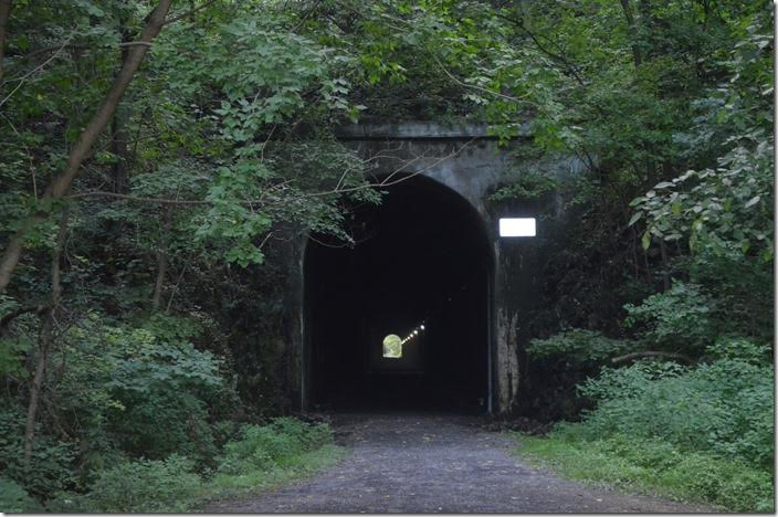 This is the east portal. ex-WM Knobley Tunnel. Ridgeley WV.