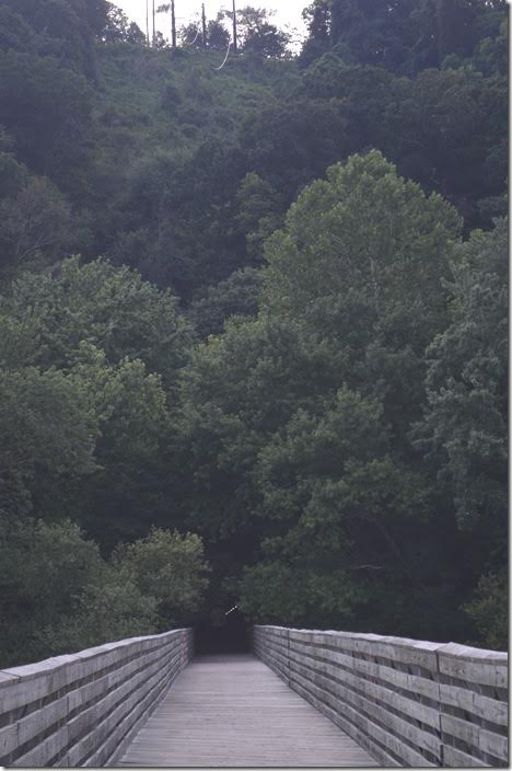 And the bridge over the Potomac. ex-WM Knobley Tunnel. Ridgeley WV.