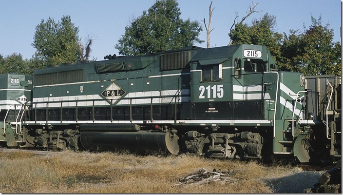 "I haven't heard any complaints about the improved ""GP40-3"" slug mothers. The 2115 wore the paint schemes of C&NW, CR, PC and NYC in its long life."